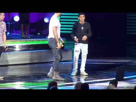 Diego ft. Romeo Santos- Debate de 4 (parte 2 Festival de Viña 2013)