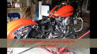 7. 2009 Harley Road Glide With New 23