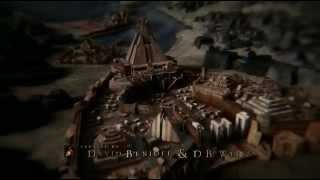 HBO's Game of Thrones, seasons 1 through 4 merged opening credits. These are all the opening locations shown so far on...