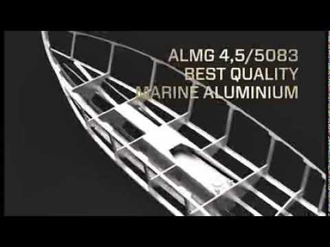 XO Boats with aluminium hull construction