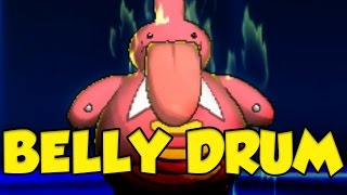 UNBELIEVABLE Z-Belly Drum Team in Pokemon Sun and Moon! by Verlisify