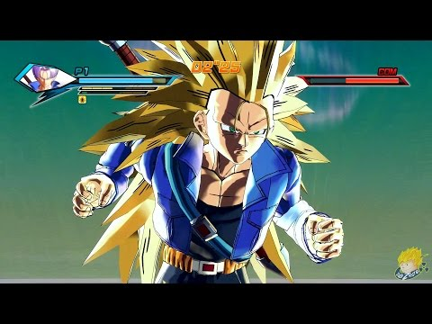 trunks super sayan 3: db xenoverse !!!