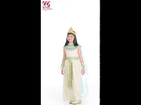 Déguisement Egyptienne Enfant-v59380