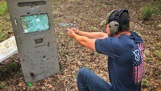 Armored Bank Truck Door VS Bullets!!! DEMO RANCH