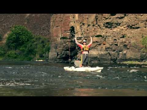 Predators on the John Day - kayak fishing, kayak photos, kayak videos