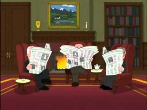 Family Guy - London Gentlemen's Club