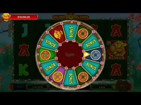 GOLDEN MONEY FROG - SlotsCocktail - real money slots