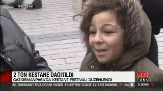 Gaziosmanpaşa'da Kestane Festivali - Cnn Türk