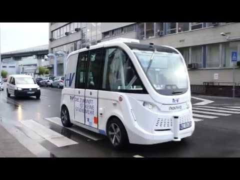 R+V: Autonome Shuttles in Marburg