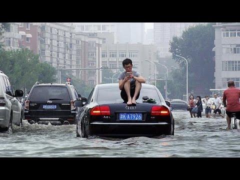 Κίνα: Νεκροί και αγνοούμενοι από τις πλημμύρες