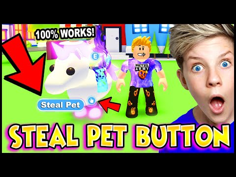 *NEW* How To STEAL PETS in Adopt Me! 100% WORKS!! NEW Tik Tok Adopt Me Hacks THAT WORK!! PREZLEY