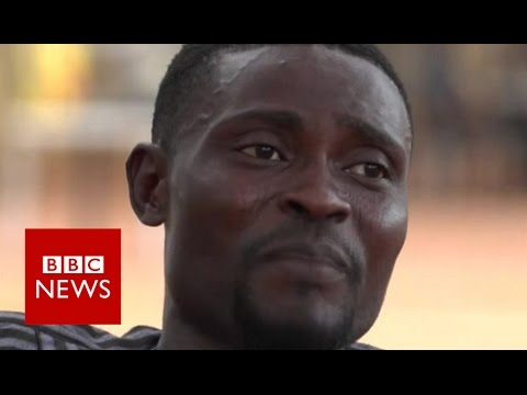 How I smuggle people from Nigeria to Europe - BBC News