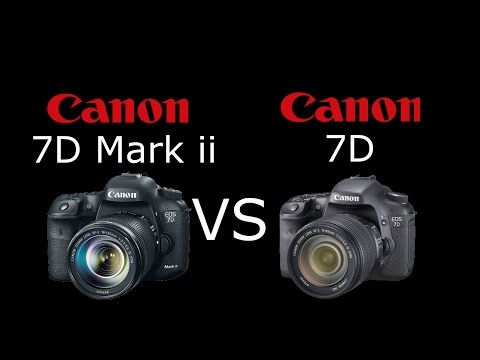 Canon EOS 7D Mark II Vs Canon EOS 7D En Español | VS Digital