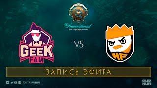 Geek Fam vs Happy Feet, The International 2017 Qualifiers [Mila]
