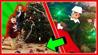Video WHO DESTROYED OUR CHRISTMAS? | Mystery Elf 2 | We Are The Davises MP3, 3GP, MP4, WEBM, AVI, FLV Desember 2018