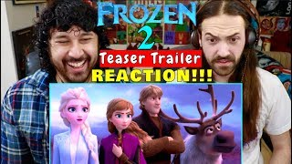 FROZEN 2 | Official Teaser TRAILER - REACTION!!! by The Reel Rejects