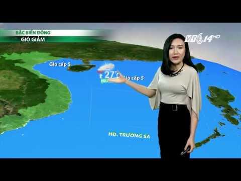 (VTC14)_Thời tiết 6h ngày 27.03.2017