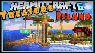 Hermitcraft Season 6: Treasure Island And A Surprise!   (Minecraft 1.13 survival let's play Ep.10)