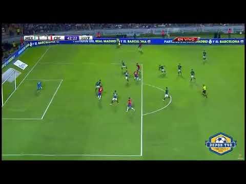 Bryan Ruiz Goal | Bryan Ruiz Gol | México vs Costa Rica 1-2