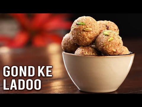 Gond Ke Laddu | How To Make Gond Ladoo | Healthy Laddu Recipe | Winter Special Recipe By Ruchi