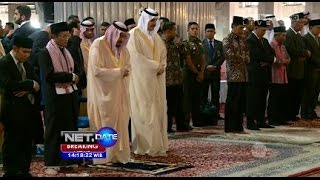 Video Breaking News - Raja Salman Tiba di Masjid Istiqlal MP3, 3GP, MP4, WEBM, AVI, FLV Mei 2019