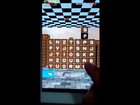 Video of Word Cube match 3D - HaFun