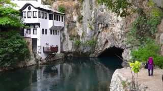 Mostar Bosnia  City pictures : Buna Spring & Tekija Blagaj, Mostar, (Bosnia & Herzegovina)