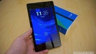 new nexus 7 Unboxing: New Nexus 7 (32GB) With Android 4.3