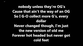 Big Sean Control ft Kendrick Lamar, Jay Electronica [Lyrics] DIRTY (OFFICIAL LYRICS)