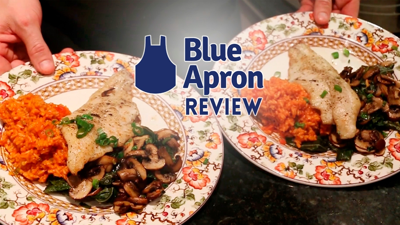 Blue apron youtube review - Blue Apron Review Cajun Catfish And Spiced Rice Success