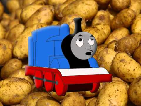 Thomas the Tank Engine says Potato for 24 seconds