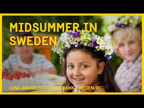 Midsummer in Sweden
