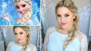 Disney's Frozen Elsa Tutorial ♡ Easiest Halloween Makeup Ever! - YouTube
