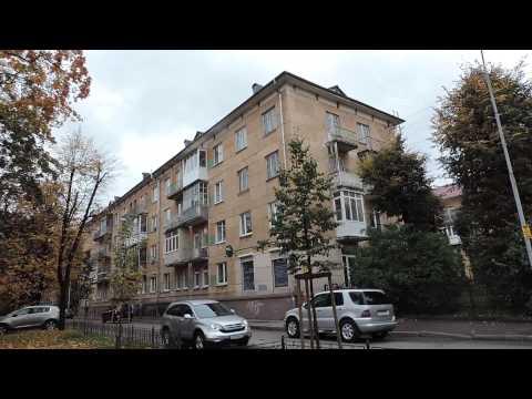 Калининград Königsberg Улица Брамса от Чайковского до проспекта Мира