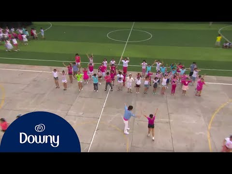 Downy Cha Cha Cha - Ấn tượng Flashmob kỉ lục của 500 trẻ em