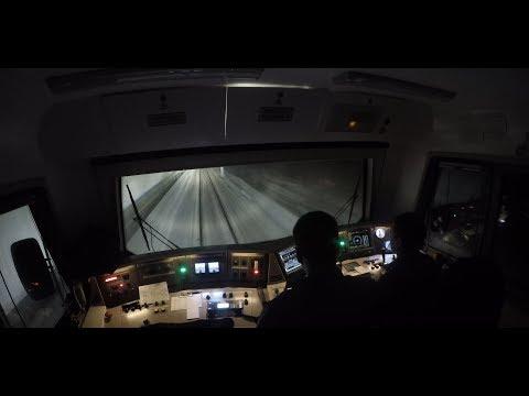 Свердловская железная дорога/Sverdlovsk Railway (Time lapse)