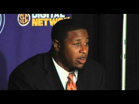Jon Bostic Interview SEC Media Days 7/18/2012 video.