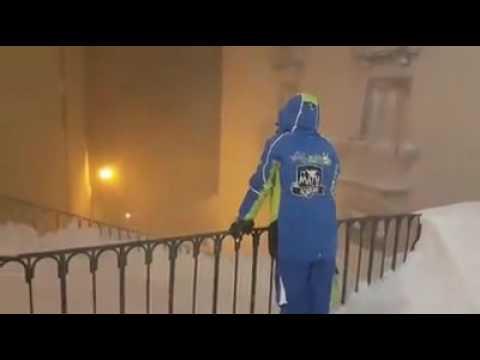 Pescocostanzo, sciatore 'scompare' dopo acrobazia sulla neve VIDEO