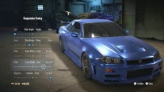 Nonton Need For Speed 2015 Paul Walker Fast & Furious R34 Skyline GT-R Build Film Subtitle Indonesia Streaming Movie Download