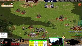 AOE | 4vs4 Random | GameTV vs Hà Nội | Ngày: 14-01-2019. BLV: Hải MariO