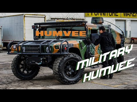 PIMP MY RIDE: MILITARY HUMVEE REVIEW *TOOFAST EDITION*