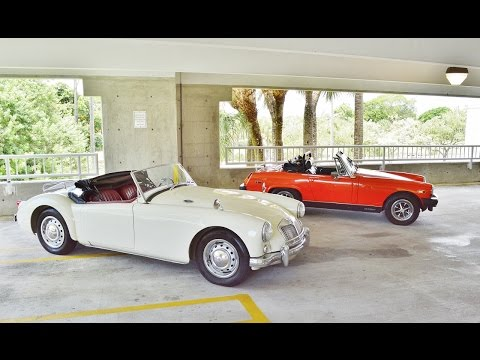 1958 MG MGA ROADSTER Frame Off Restored CONVERTIBLE FOR SALE 305-988-3092