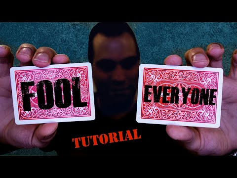 They Will Never Guess How You Did This! Fooling/Easy Card Trick REVEALED! Tutorial By Spidey