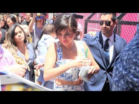 Selena Gomez Charms Hollywood At Hotel Transylvania 3 Premiere