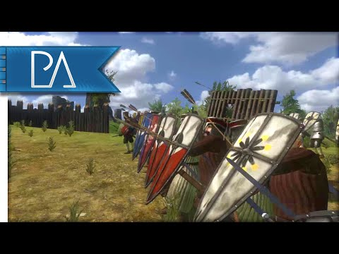 MASSIVE SIEGE EVENT - Mount and Blade: Warband Gameplay (видео)