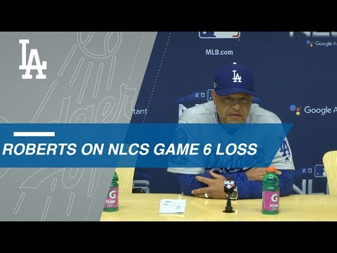 Video: NLCS Gm6: Roberts on loss, facing Chacin in Game 7