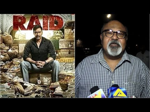 Saurabh Shukla At Screening Of Film Raid At PVR Icon