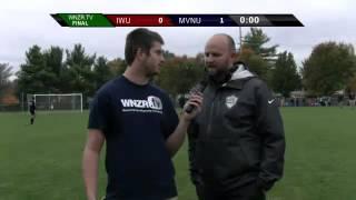 Andrew Belleman Postgame Interview (IWU)