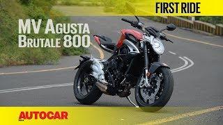 Video MV Agusta Brutale 800 | First Ride | Autocar India MP3, 3GP, MP4, WEBM, AVI, FLV Desember 2017