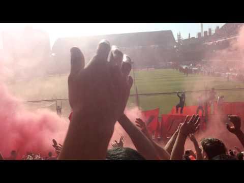 Recibimiento Independiente 3 - Racing 0 - La Barra del Rojo - Independiente